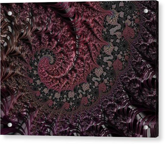 Julia's Heart Acrylic Print