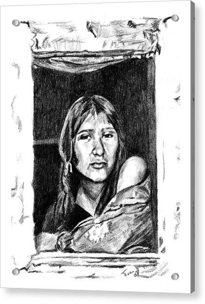 Juliet Acrylic Print