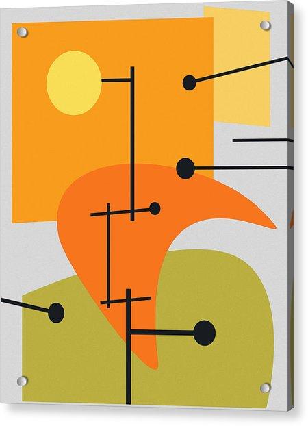 Juxtaposing Thoughts Acrylic Print