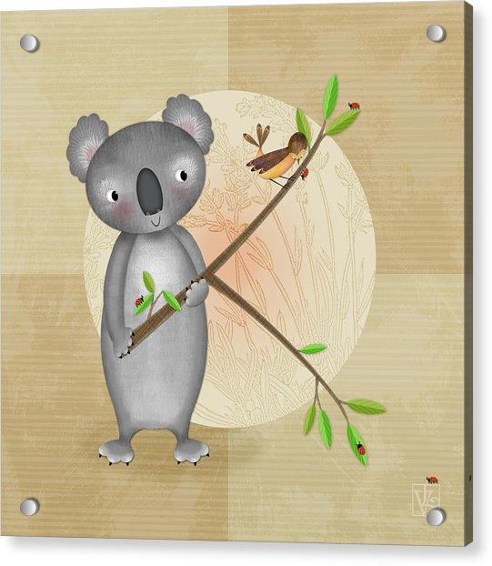 K Is For Koala Acrylic Print