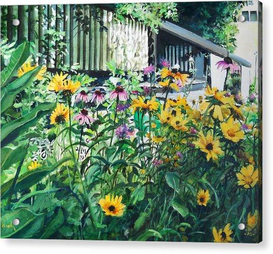 Kathys Garden Acrylic Print