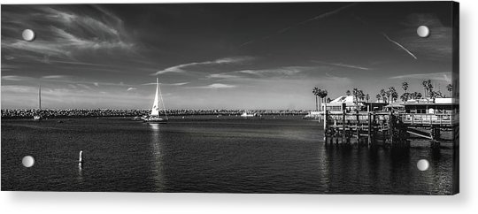 King Harbor By Mike-hope Acrylic Print