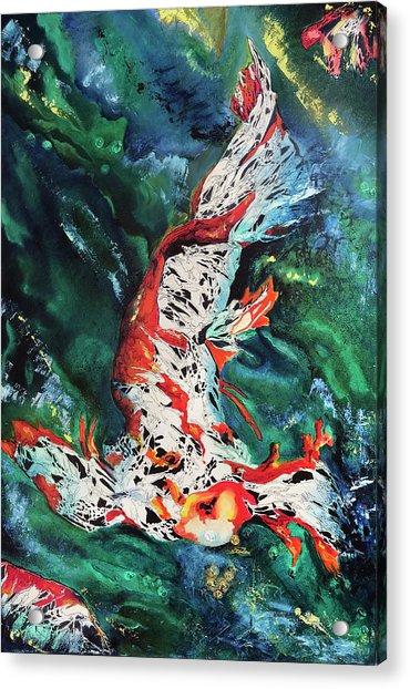 King Of The Pond Acrylic Print