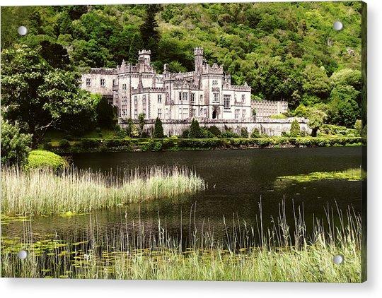 Kylemore Abbey Victorian Ireland Acrylic Print