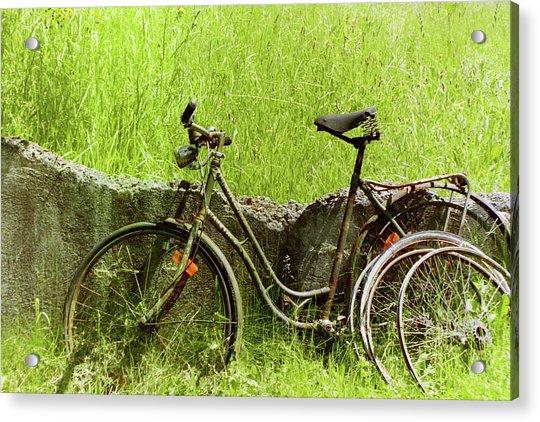 La Bicyclette Acrylic Print
