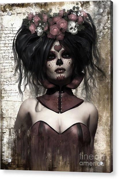 La Catrina Acrylic Print