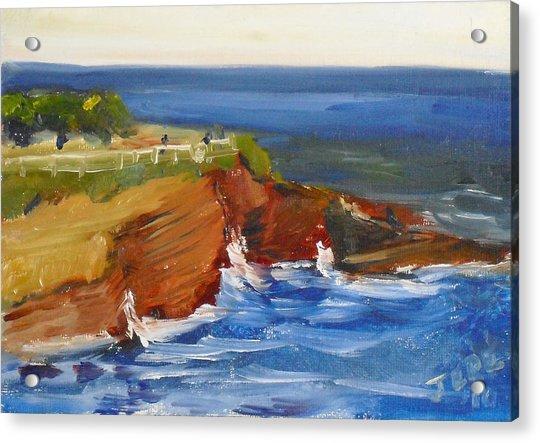 La Jolla Cove 017 Acrylic Print