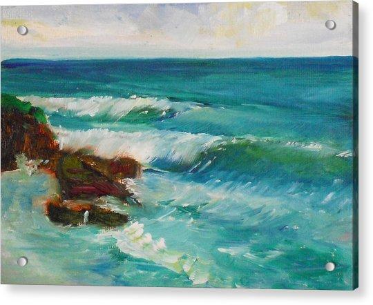 La Jolla Cove 027 Acrylic Print