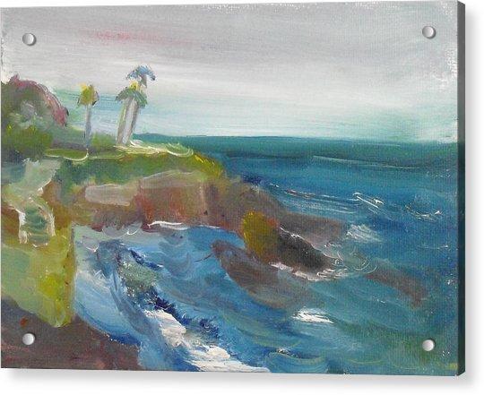 La Jolla Cove 028 Acrylic Print
