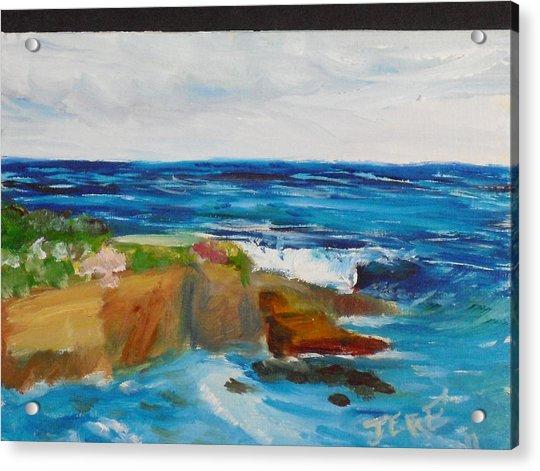 La Jolla Cove 045 Acrylic Print