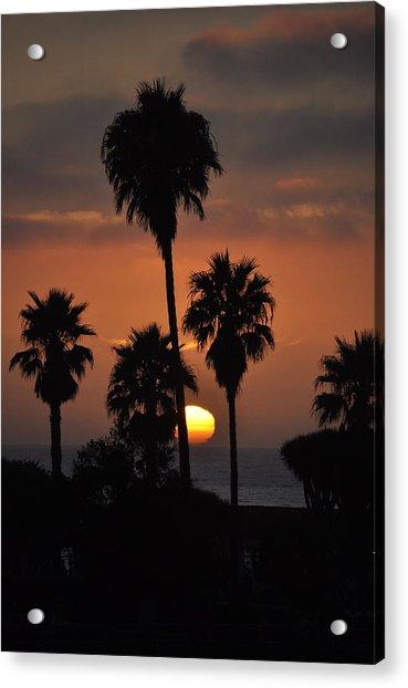 La Jolla Sunset Acrylic Print