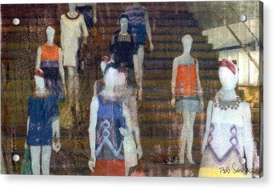La Ladies Acrylic Print