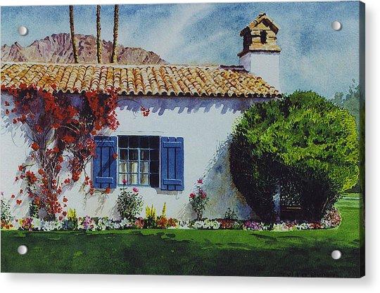 La Quinta Casita Acrylic Print