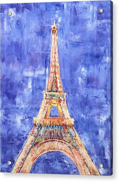 La Tour Eiffel Acrylic Print