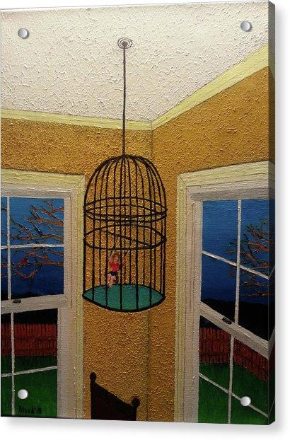 Lady Bird Acrylic Print