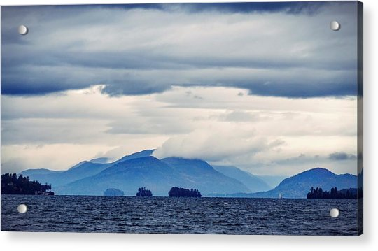 Lake George Is The Queen Of American Lakes Acrylic Print