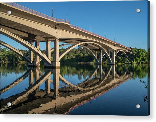 Lake Natoma Crossing Acrylic Print