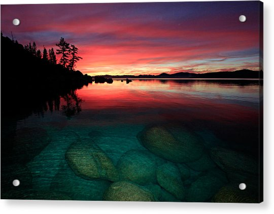 Lake Tahoe Jewels Acrylic Print