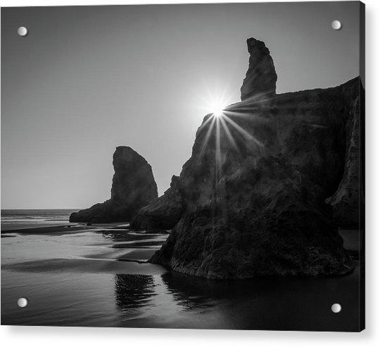 Last Light On The Coast Acrylic Print