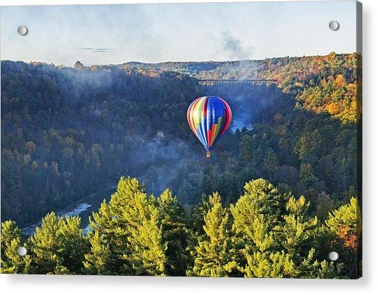 Launching At Sunrise Acrylic Print