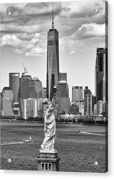 Liberty And Freedom 2 Acrylic Print