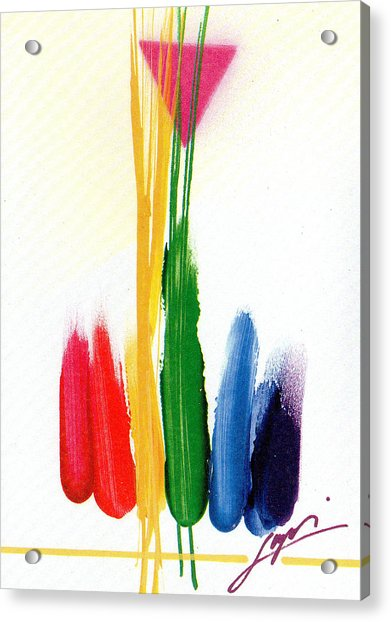 Life Is A Miracle  Acrylic Print