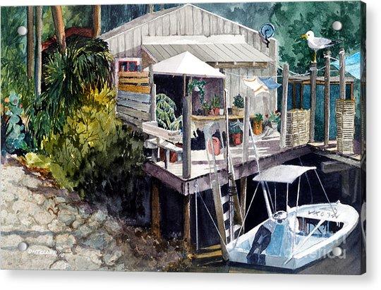 Life On The Water IIi Acrylic Print