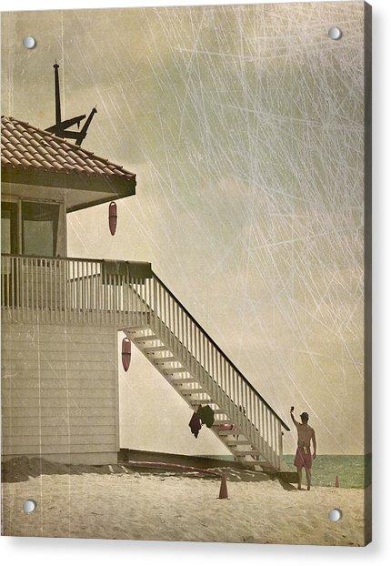 Lifeguard Daze Acrylic Print