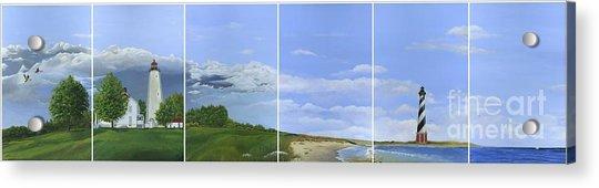 Lighthouse Panels Acrylic Print