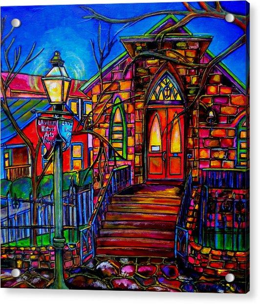 Little Church At La Villita II Acrylic Print