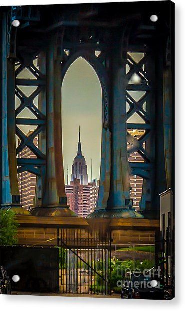 Little Empire State Building Acrylic Print