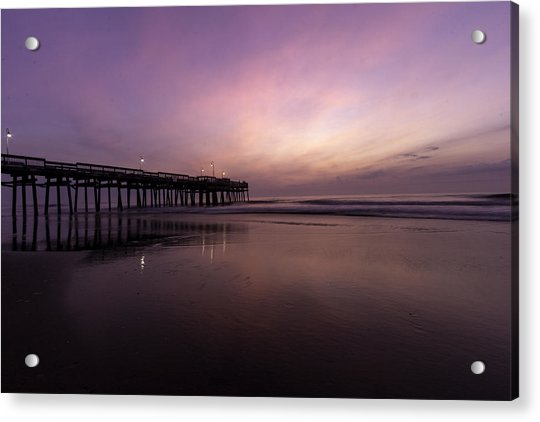 Little Island Sunrise Acrylic Print