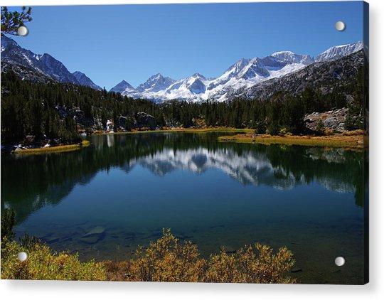 Little Lakes Valley Eastern Sierra Acrylic Print