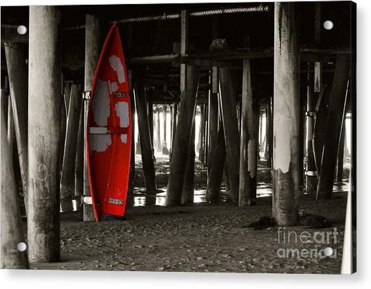 Little Red Boat IIi Acrylic Print
