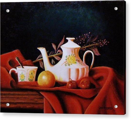Little Tea Pot Acrylic Print