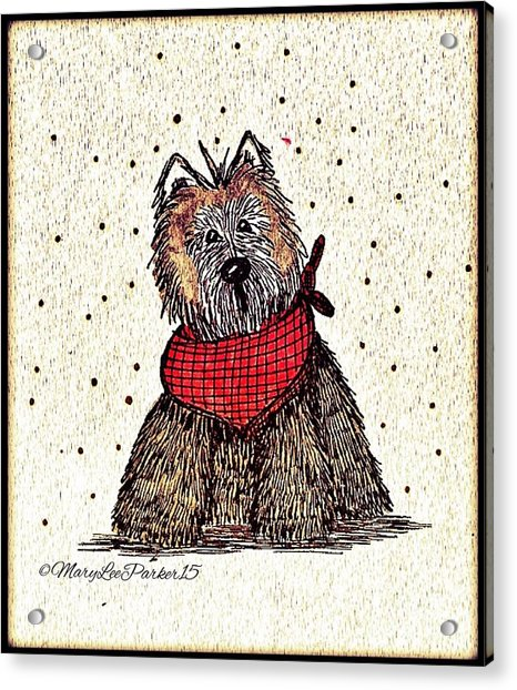 Lola The Dog Acrylic Print