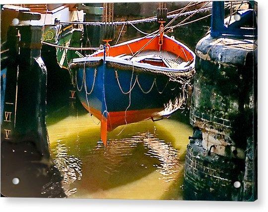 London Boat Acrylic Print