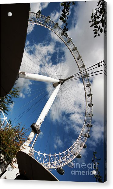 London Ferris Wheel Acrylic Print