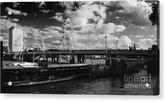 London S Skyline Acrylic Print