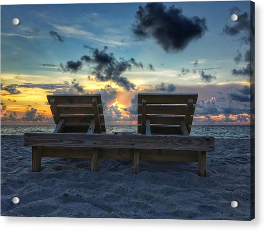 Lounge For Two Acrylic Print