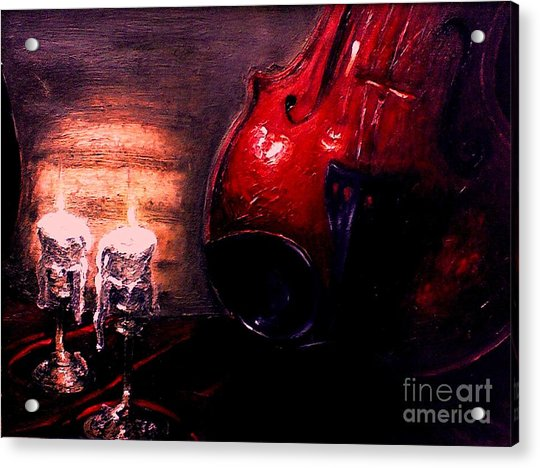 Love For Music Acrylic Print
