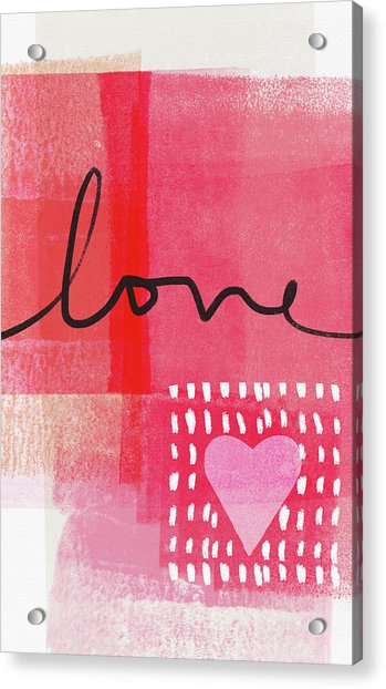 Love Notes- Art By Linda Woods Acrylic Print