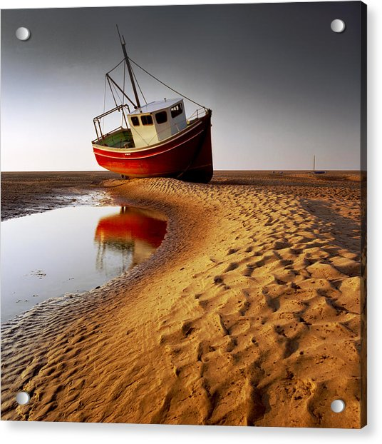 Low Tide Acrylic Print