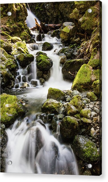 Lower Lupin Falls   Acrylic Print