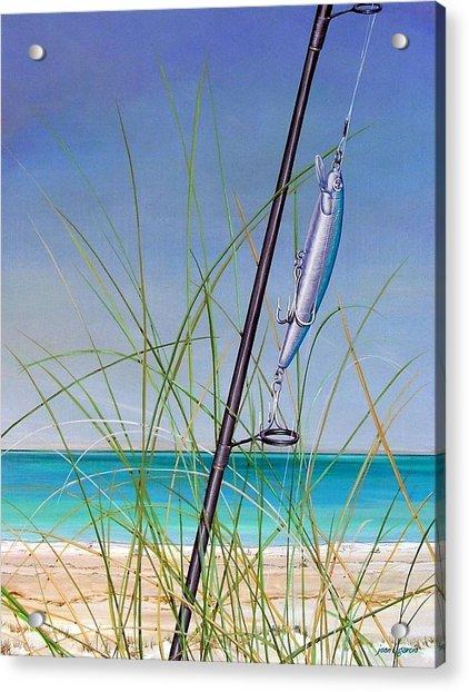 Lure Of The Island Acrylic Print