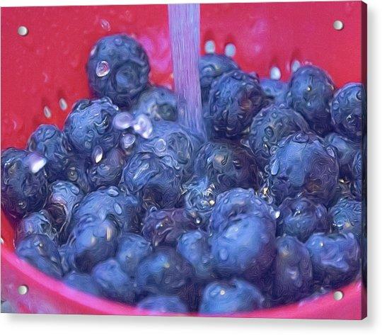 Luscious Berries Acrylic Print