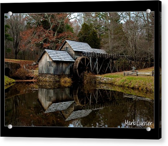 Mabry Mill V Acrylic Print
