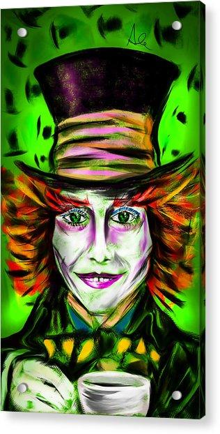 Mad Hatter Acrylic Print