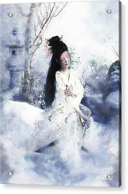 Madam Butterfly  To Die With Honour Acrylic Print