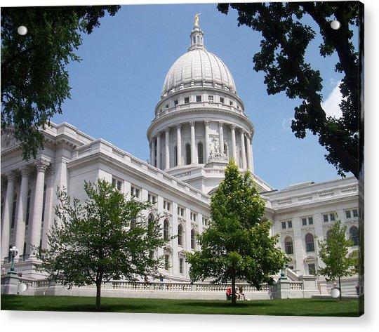 Madison Wi State Capitol Acrylic Print
